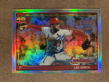 2002 Topps Archives Reserve LEE SMITH AUTO - St. Louis Cardinals HOF