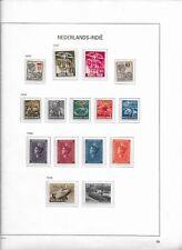 1938 MH Nederlands Indië  album page