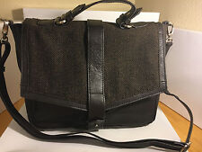 Walter by Walter Baker Delmont Chocolate Brown Messenger Bag Satchel Handbag