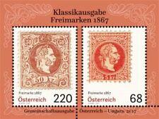 Austria 2017 - Freimarken 1867 souvenir sheet mnh