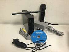 Nintendo Wii Sports Resort Pack Black Console (NTSC) with Gamecube Ports