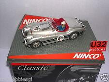 NINCO 50465 SLOT CAR JAGUAR XK120  #58 SILVER   MB