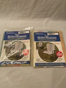 2 Phifer Better Bottom Prism Stripe Replacement Cover Aluminum Lawn Patio Chairs