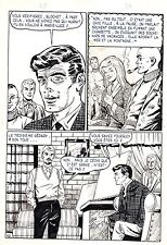 FLASH ESPIONNAGE PLANCHE ORIGINALE AREDIT PAGE 10