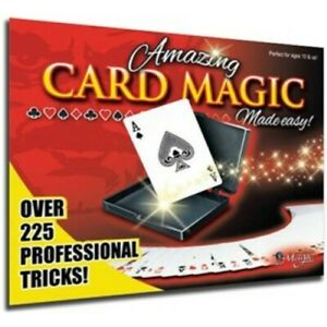 Amazing Card Magic -  Magic Set by Royal - Over 225 Magical Effects!