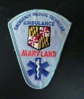 Emergency Medical Technician Ambulance, Maryland Patch