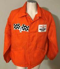 1981 Indianapolis 500 Buick Regal Pace Car Orange Snap Front Jacket XXL