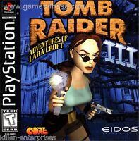 Tomb Raider III: Adventures of Lara Croft (PlayStation) PS1 3