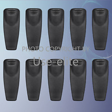 4x Belt Clip for Motorola XTS2500 XTS1500 XTS2250 MTX850 MTX8250 MTX950 MTX9250
