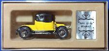 Corgi C862 Collectors' Classics:  Yellow 1910 12/16 Renault. New in box