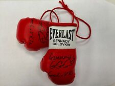 Autographed Mini Boxing Gloves Gennady Golovkin