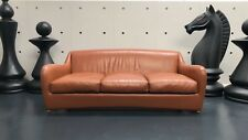 DESIGNER HEALS SCP BALZAC SOFA BY MATTHEW HILTON LEATHER LARGE SETTEE RRP £6640