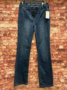 Free People Womens Baltic Blue Jeans Juniors Size 27 W