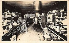 MN - 1900's REAL PHOTO Interior Flynn's Variety Store at Eden Valley, Minnesota
