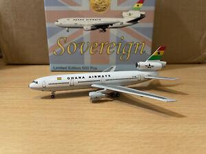 Ghana Airways DC-10 1:400 (Reg 9G-ANB) Sovereign Models