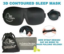 Sleeping Mask 3D Contoured Sleep Mask for Women Men Blindfold Face Masks Eyemask