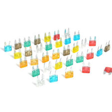 35 Pieces/Kit MIXED Mini Blade Fuse AUTO Car 5 7.5 10 15 20 25 30 AMP Practical