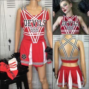 Cheerleading Uniform dolls kill cheerleading costume Adult 3X