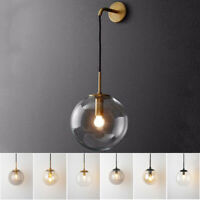Modern Wall Light Home Glass Wall Sconce Kitchen Bar Wall Lamp Bedroom Lighting