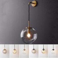 Modern Wall Light Kitchen Bar Wall Lamp Home Glass Wall Sconce Bedroom Lighting