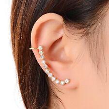 Arete pendientes ohrklemme pedrería serie ohrbügel ear cuff Gothic ohrclip nuevo