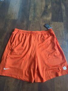 NWT Nike Clemson Tigers On Field Dry Orange Shorts AO4839 888 Men's Size XXL
