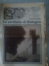 GIORNALE ANNI 70 SUPPLEMENTO IL RESTO DEL CARLINO LA PERIFERIA DI BOLOGNA RARO
