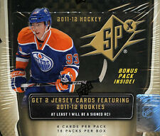 2011-12 Upper Deck SPx Hockey Hobby Box