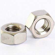 M5 STAINLESS HEX FULL NUTS  QTY 25 PACK