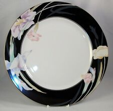 Mikasa CHARISMA BLACK Chop Plate GREAT Appears Unused A+ CONDITION