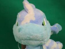 Blue Cream Neopets Flying Dragon Baby Clouds Lovey Plush Stuffed Animal