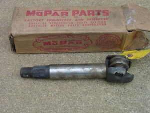 NOS MoPar STEERING SECTOR SHAFT 1942-1954 Plymouth Dodge 1942-48 DeSoto Chrysler