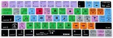HRH Logic Pro X Functional Hot key Shortcut Silicone Keyboard Skin Cover Macbook