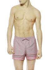 Ex La Perla para hombre Traje de baño, pantalones cortos de natación, Rosa Genuina Symi-Riga piazz