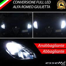 KIT FARI FULL LED ALFA ROMEO GIULIETTA ANABBAGLIANTI H7 + ABBAGLIANTI H1 CANBUS