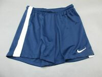 Nike Size M Womens Blue Athletic Dri-Fit Gym Running Fitness Track Shorts 859