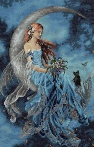 """DIMENSIONS Gold Collection """"Wind Moon Fairy"""" Fantasy Counted Cross Stitch Kit"""