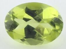 RARE 8x6mm OVAL-FACET STRONG-GREEN NATURAL AFGHAN PERIDOT GEMSTONE (APP )