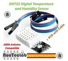DHT22 Digital Temperature Humidity Sensor AM2302 Module + PCB Cable for Arduino
