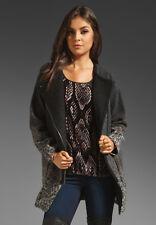 Rebecca Taylor Ombre Leopard Coat Jacket  size M $650 BNWT