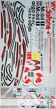 1/8 CAR BODY & DRIVER HELMET DECAL for DEAGOSTINI McLAREN MP4-23 HAMILTON