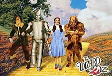"The Wizard of Oz movie poster 24 x 36""  Yellow Brick Road"