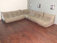 Ligne Roset TOGO Set 1x3,1x2,1 Seat, corner, new cappuccino Leather!