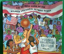 1995 Atlanta Olympic Games Basketball Young Collectors Edition 50 Cents Coin Set
