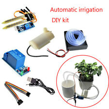 Kit sistema automatico di irrigazione con rilevamento umidità del suolo e pompa