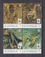 Slovenia 2011 - MNH - Vissen/Fish/Fische - WWF/WNF