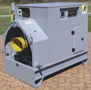 60 kVA Zapfwellengenerator Zapfwellenstromerzeuger 230 / 400 V IP44 1500 U/min