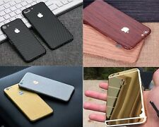 Textured Carbon Wood Chrome Gloss Skin Wrap Sticker Decal Case Cover All iPhone