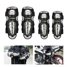 PRO-BIKER 4Pcs Elbow Knee Pads Protector for Motorcycle Racing Bike Riding C6K3