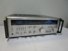 Mitsubishi DA-R10 'Submarine Dial' Stereo Receiver w/ LED Upgraded Lamps ->Cool!